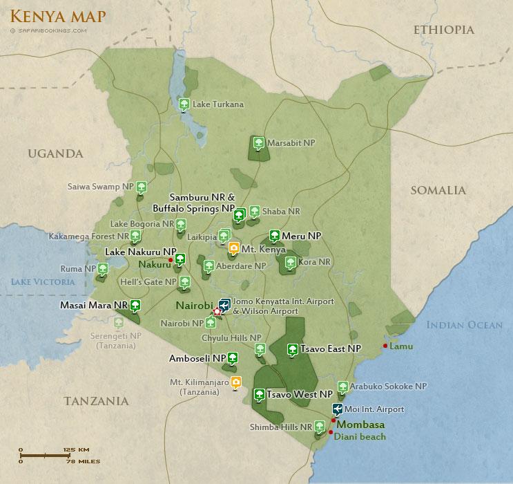 Popular Routes in Kenya