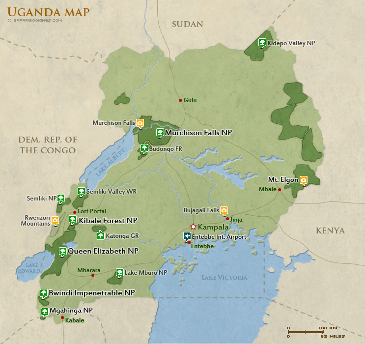 Popular Routes in Uganda